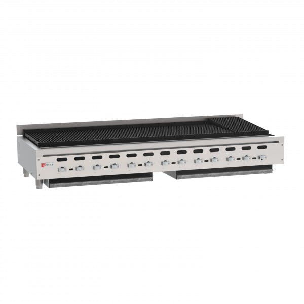 """Achiever 72"""" NG Countertop Charbroiler"""