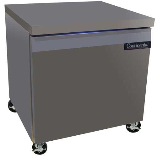 "Continental Refrigerator - SW32 32"" Worktop Refrigerator Commercial refrigerator sold by Food Service Warehouse"