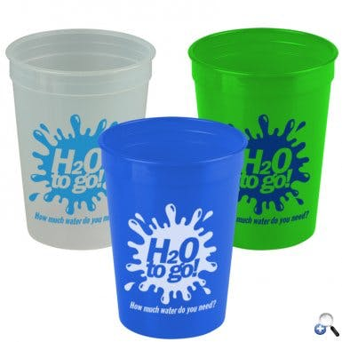 SC12T - 12 oz Stadium Cup Plastic cup sold by ARTon Products