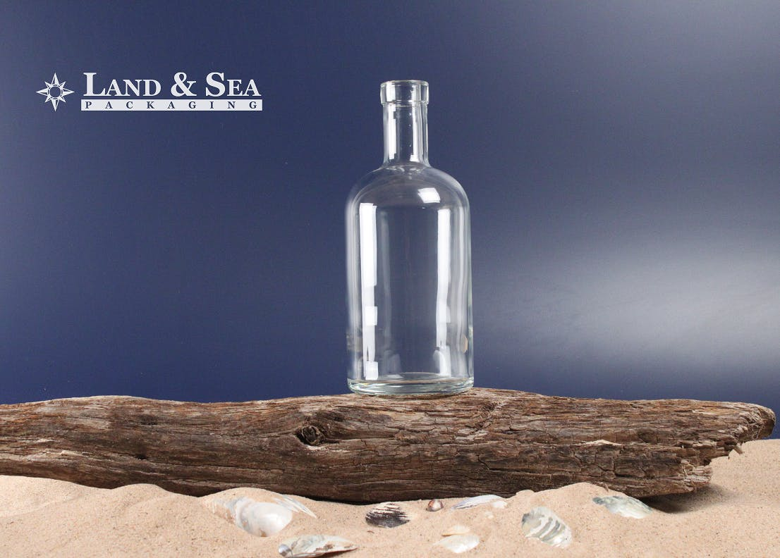 Oregon Spirit Bottle Liquor bottle sold by Land & Sea Packaging