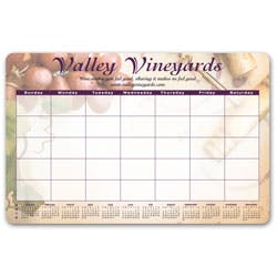 Ultra-thin Counter Mat/Wall Calendars (Item # WFHJR-KBKKU) Custom calendar sold by InkEasy