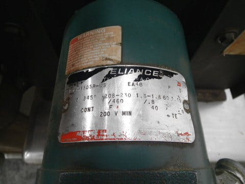 Used Pneumatic Scale Bottle Rinser Air Inverter Cleaner Bottle washer sold by Sigma Packaging
