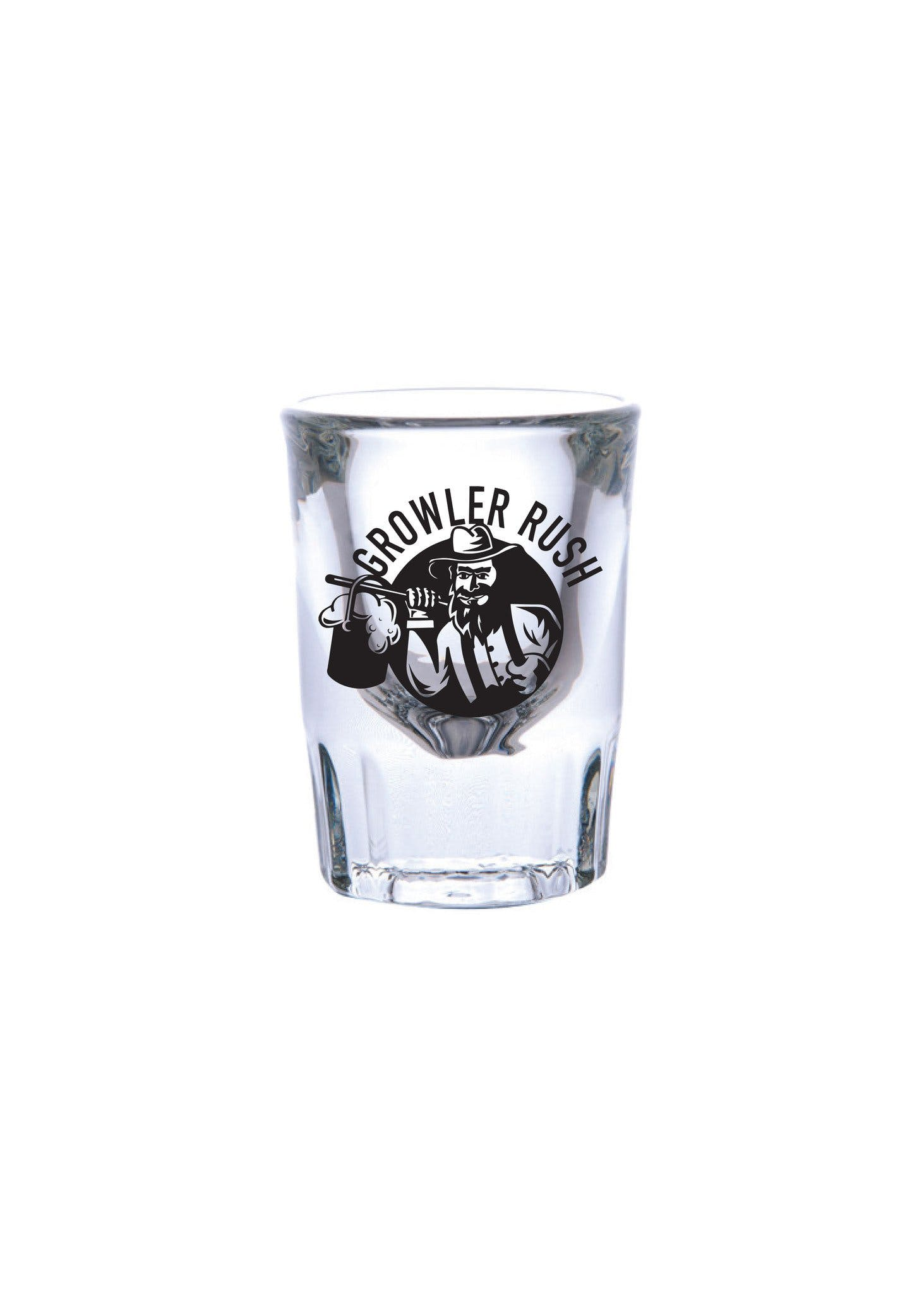 2 oz. Shot Glass Fluted #337 - sold by Clearwater Gear
