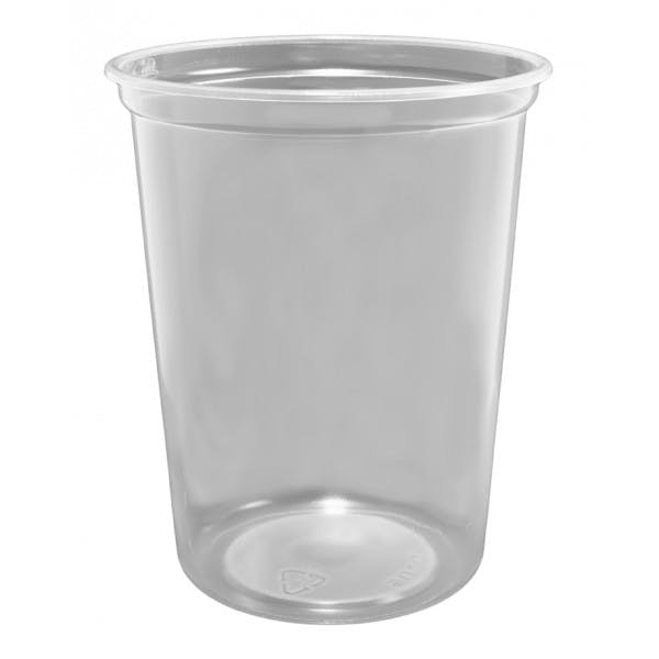 32 oz. Clear Plastic Food Container