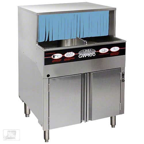CMA Dishmachines - GW-100 1,000 Glass/Hr Glasswasher Commercial dishwasher sold by Food Service Warehouse