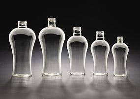 Sculptured Rounds Plastic bottle sold by Kaufman Container Company