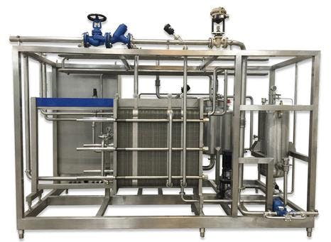 Plate Type Pasteurizer for Dairy and Juice Pasteurizer sold by TPS Process Equipment