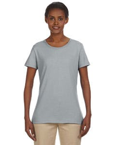 29WR Jerzees Ladies' 5.6 oz., 50/50 Heavyweight Blend™ T-Shirt Promotional shirt sold by Lee Marketing Group