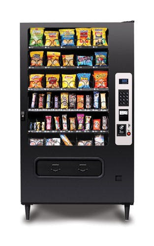 40 Select Snack Machine Vending machine sold by Universal Vending Consultants
