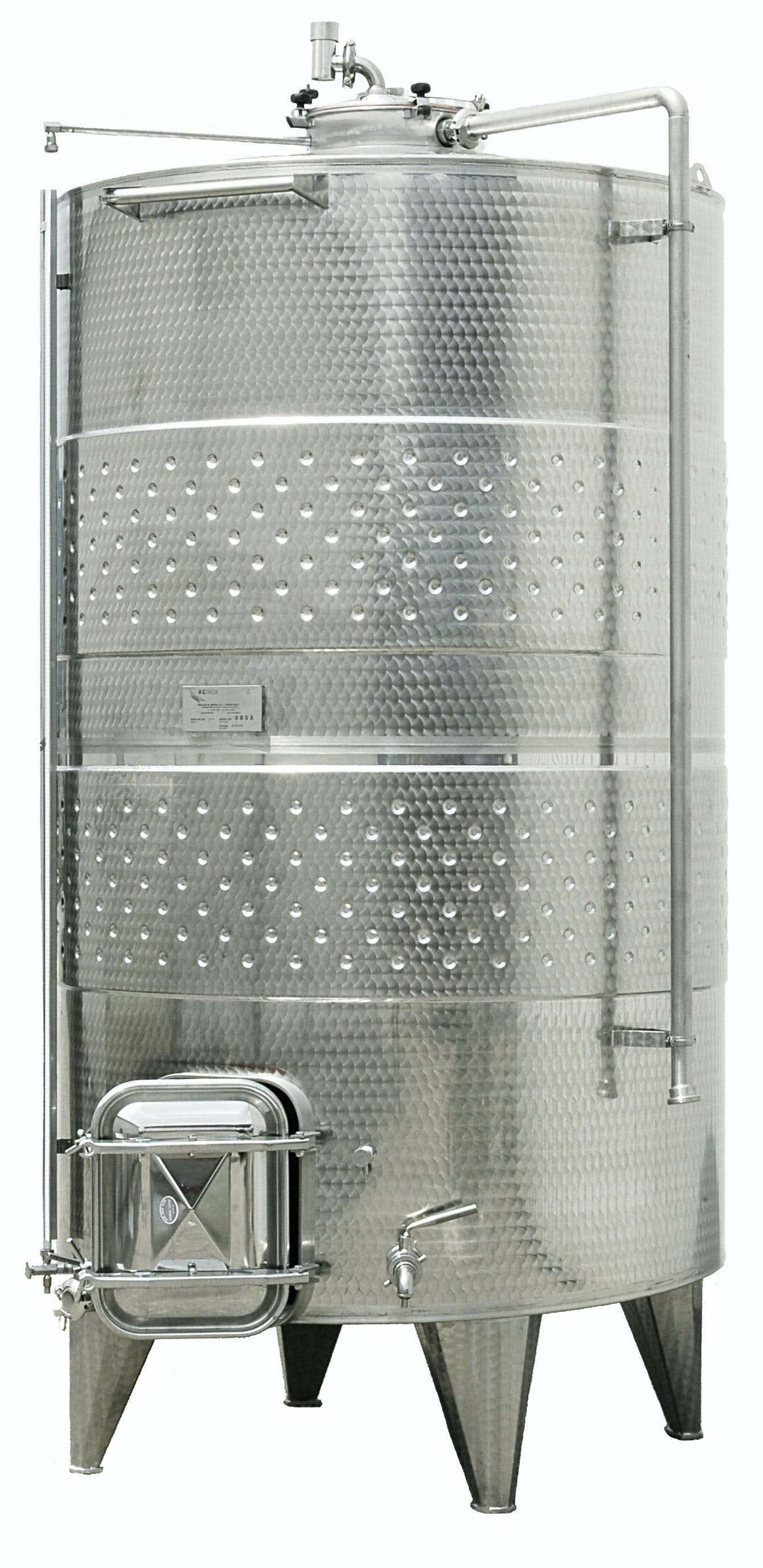 Custom Closed Top Sloped Bottom Wine Tanks Wine tank sold by The Vintner Vault