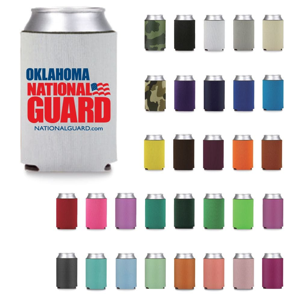 Collapsible Premium Foam Can Cooler - Screen Printed Koozie sold by Custom H2Oh!