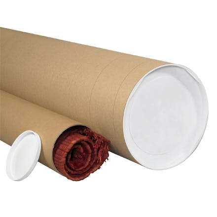 Jumbo Kraft Tubes Kraft packaging sold by Ameripak, Inc.
