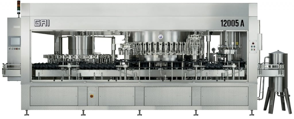 GAI 12005A/40 Bottling machinery Bottling machinery sold by Prospero Equipment Corp.