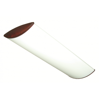 """4-Foot 9.5""""W LED Eclipse Surface Mount (Matte White Acrylic), 32W-72W - sold by RelightDepot.com"""