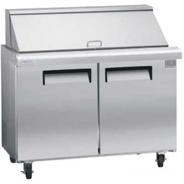 "47"" Mega Top Refrigerated Sandwhich Prep Table"
