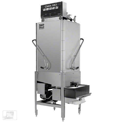 CMA Dishmachines - CMA-180TC 60 Rack/Hr Corner Pot & Pan Washer Commercial dishwasher sold by Food Service Warehouse