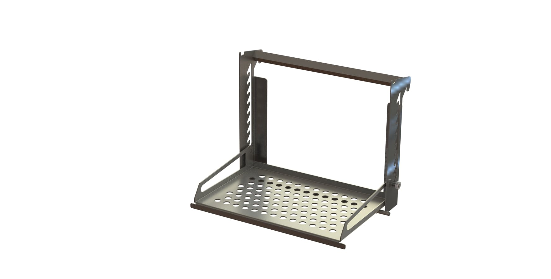 ERG-400 Ergonomic Stand Equipment stand sold by Fusion Tech Integrated Inc.