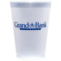 12 oz. Custom Disposable Frost Flex Plastic Cups - Disposable cup sold by Cup of Arms