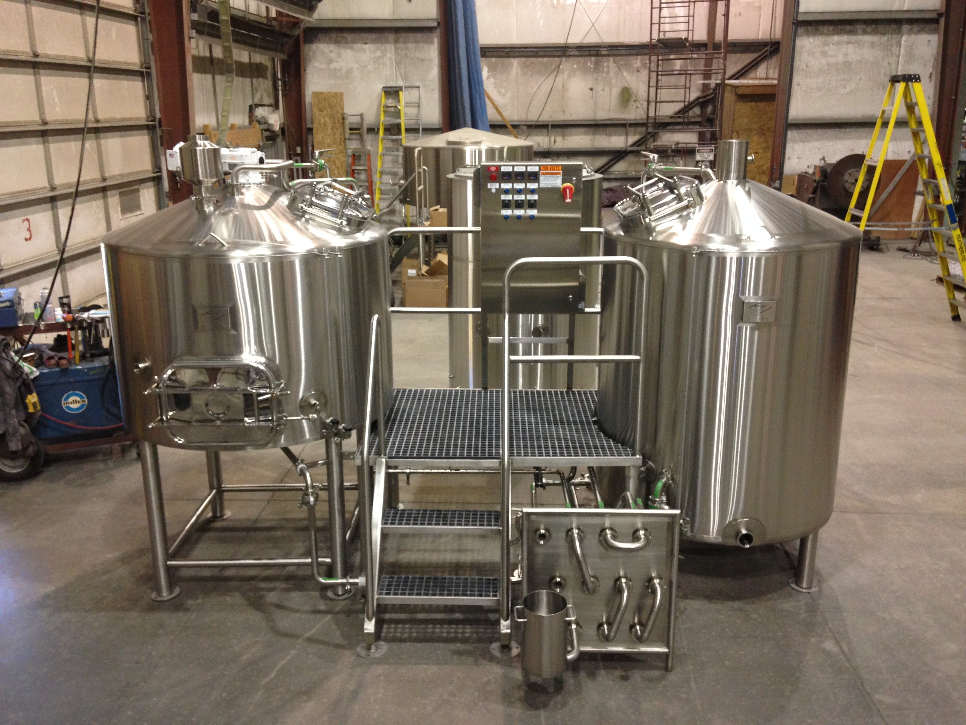 10 BBL Brew house