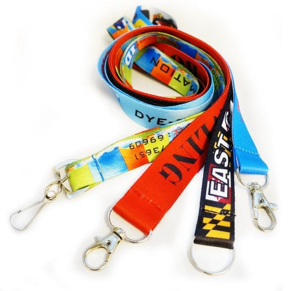 """3/4"""" (20 Mm) Dye-Sublimation Lanyards Lanyard sold by Custom H2Oh!"""