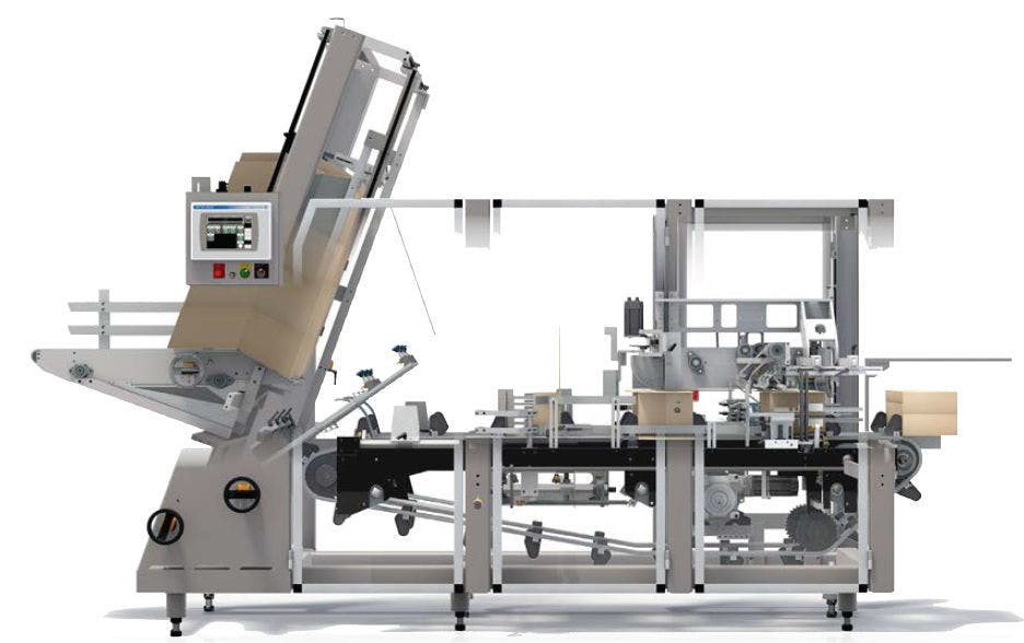 Douglas Machine - Tray Shrink Wrappers & Tray Packing Systems Traypacker/trayloader sold by Package Devices LLC