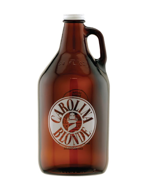 GX-20913 - 64 oz. Amber Growler, Screw Cap Growler sold by ARTon Products