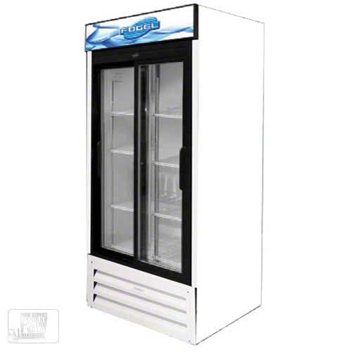 "Fogel - VR-33-SD-US 44"" Sliding Glass Door Merchandiser Commercial refrigerator sold by Food Service Warehouse"