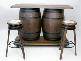 BARREL FURNITURE Whiskey barrel sold by TONECOR SL