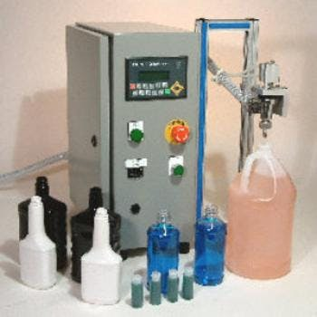 Single Head Table Top Pump Filler Bottle filler sold by MSM Packaging Solutions