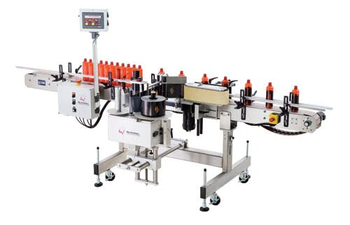 Moduline Wrap Labeling machine sold by BPM SYSTEMS