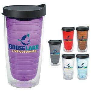 Color Splash 16 Oz. Tumbler Plastic cup sold by Dechan, Inc. II