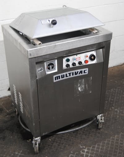MULTIVAC VACUUM BAG SEALER Vacuum packaging machine sold by Union Standard Equipment Co