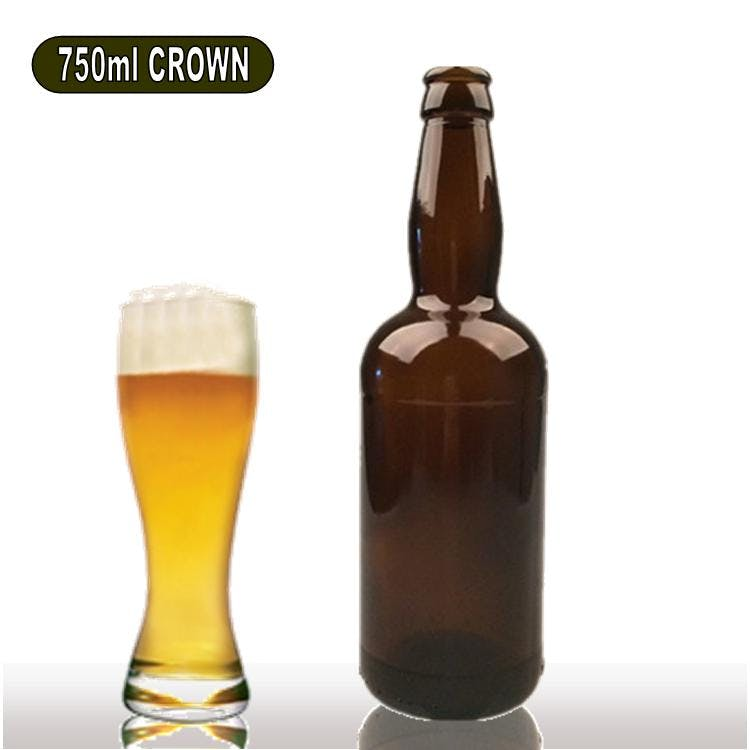 750ml Beer Bottle Beer bottle sold by Wholesale Bottles USA