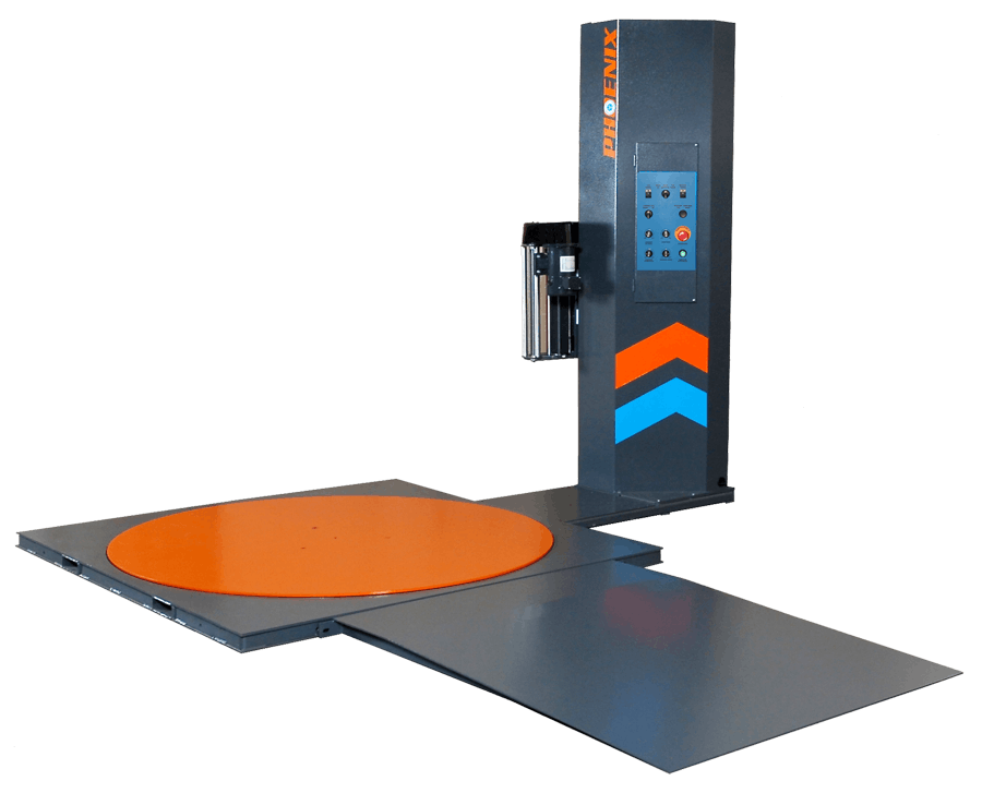 PLP-2300 Ramp - Phoenix Stretch Wrapper - Semi-Automatic - sold by Package Devices LLC