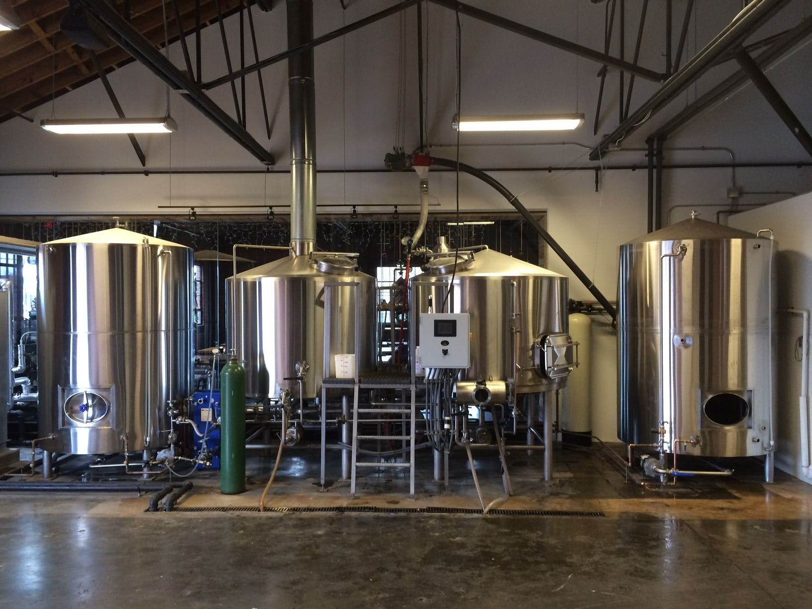 15 bbl brewhouse Brewhouse sold by Ager Tank & Equipment Co.