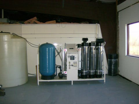 Used Severn Reverse Osmosis Water Filtration Unit - sold by Sigma Packaging
