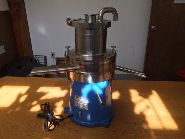 500L Cream Separator - Stainless Steel