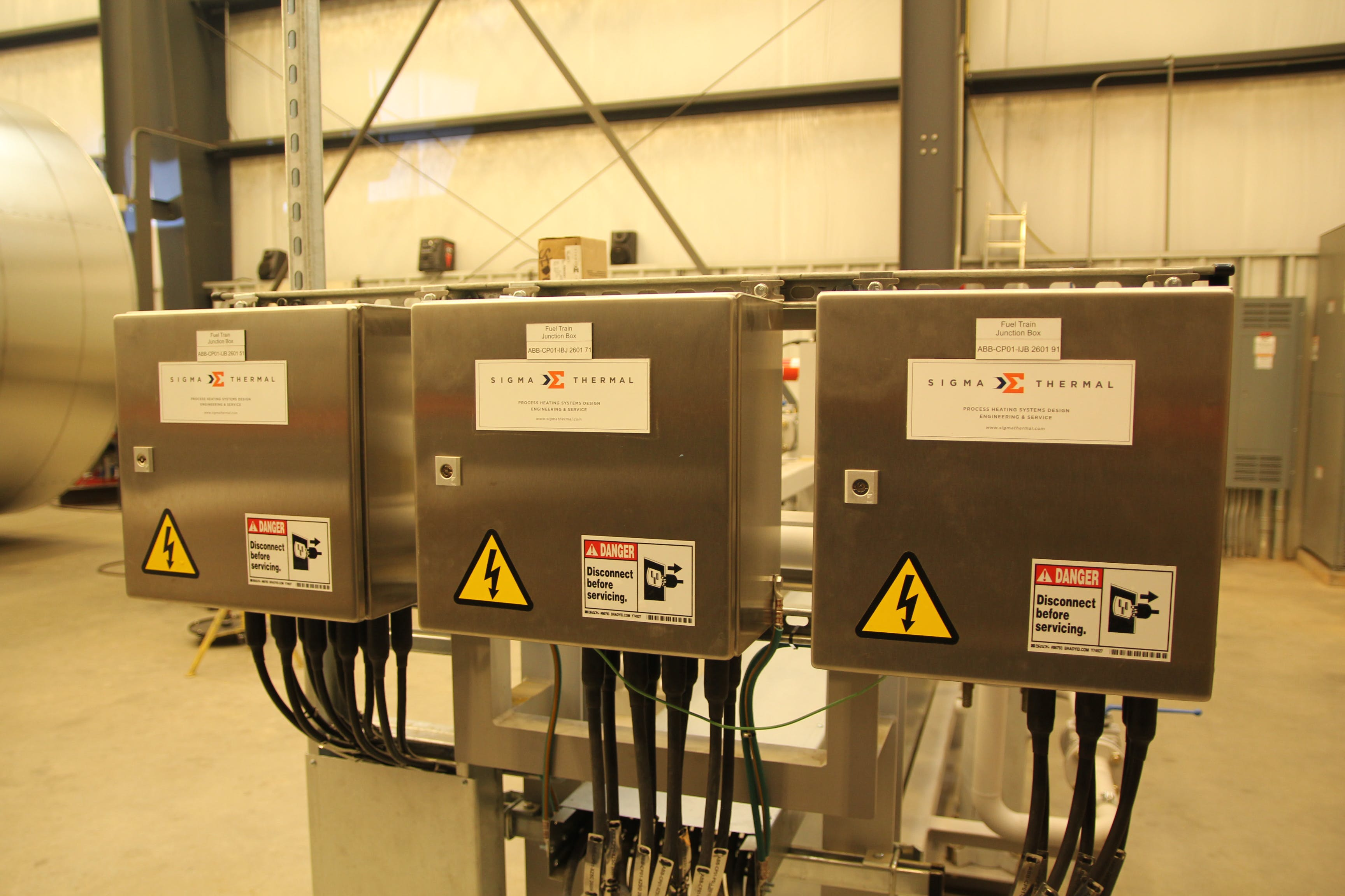 Skid Junction Boxes Control System sold by Sigma Thermal