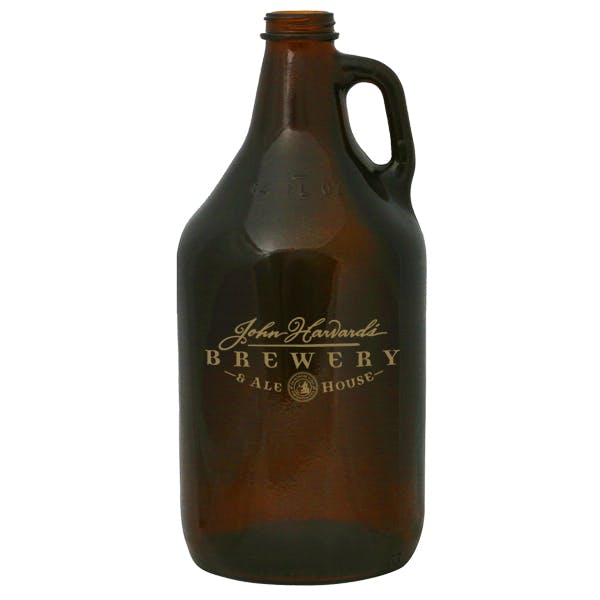 Amber 1/2 Gallon Growler Growler sold by MicrobrewMarketing.com