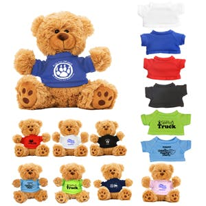 Teddy Bear with T-Shirt (Item # ACFKT-JDRGI) Stuffed toy sold by InkEasy