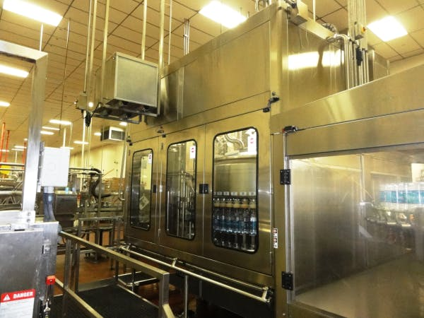 Used FOGG 54 Valve Gravity FIller With 18 Head Capper For Sale Bottle filler sold by SMB Machinery Systems