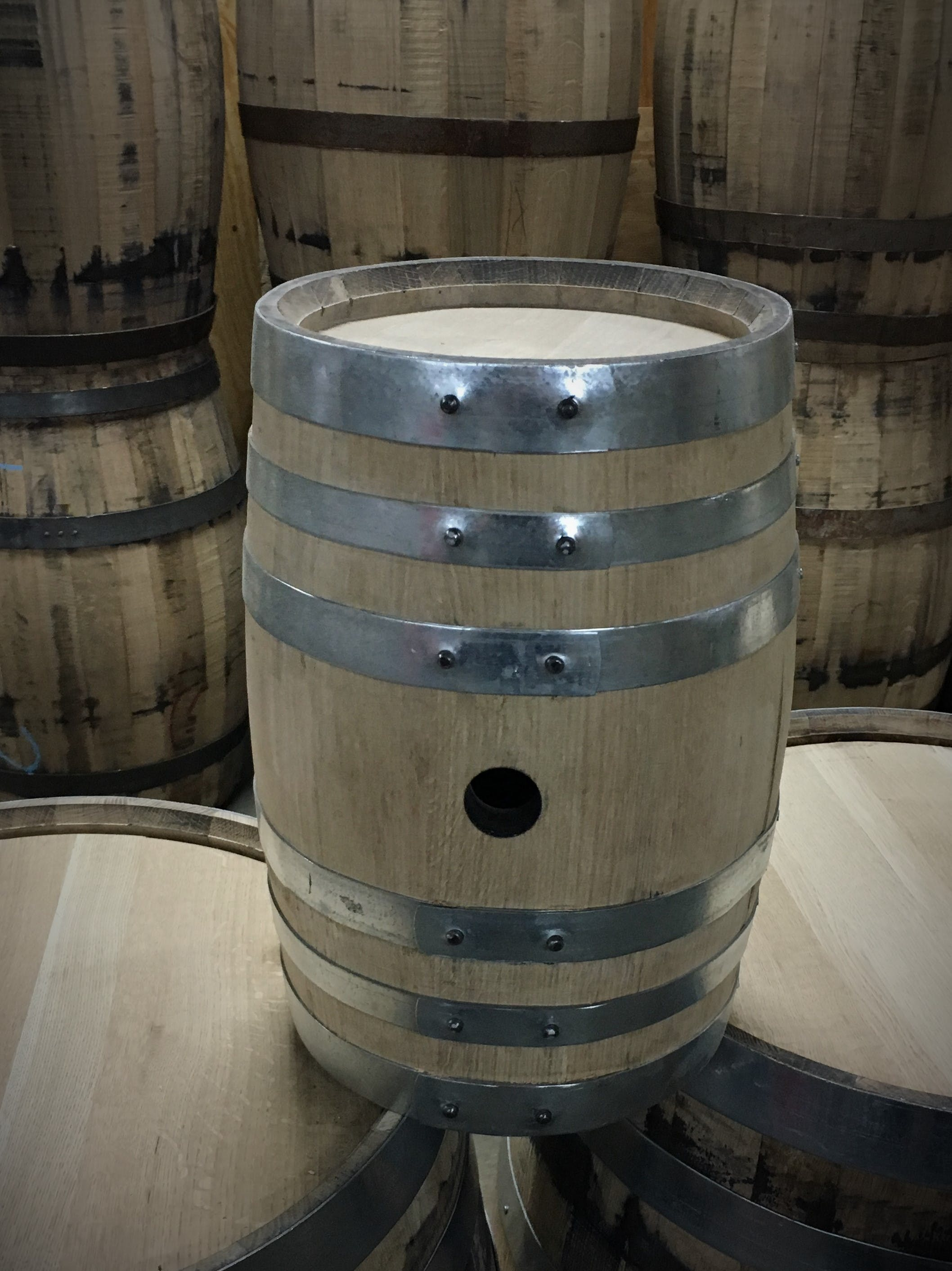 American Oak 5 Gallon Barrel (Whiskey/Spirit) Whiskey barrel sold by East Coast Wood Barrels
