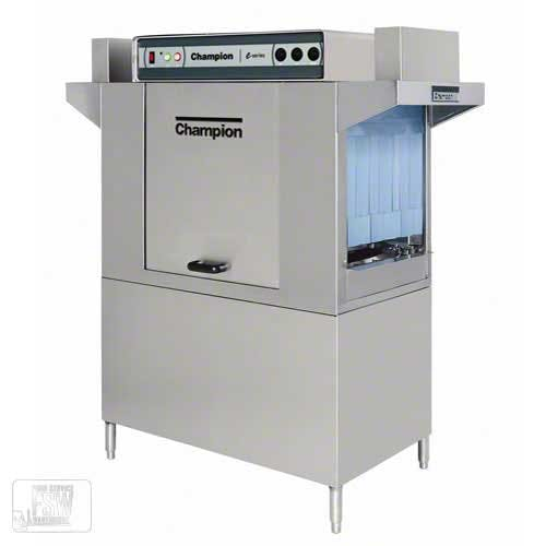 Champion - 54 DR 208 Rack/Hr High Temp Conveyor Dishwasher Commercial dishwasher sold by Food Service Warehouse