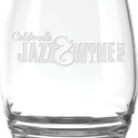 11 oz Eminence White Wine Stemless - Deep Etched
