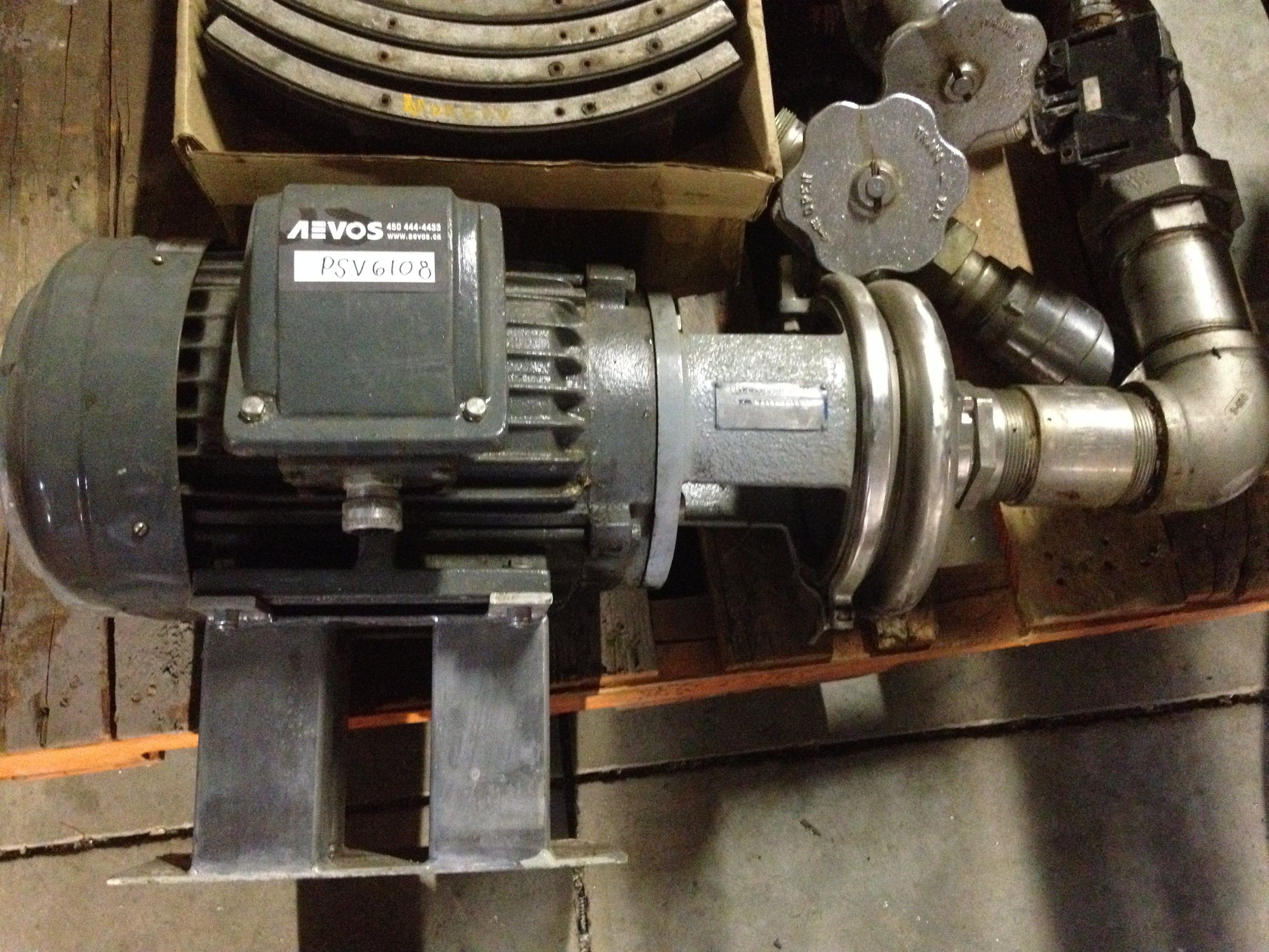 TRI-CLOVER C218MD211-S Pump Transfer pump sold by Aevos Equipment