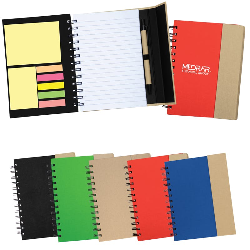 Recycled Magnetic Journalbook (Item # OJLNU-IBKWX) Notepad sold by InkEasy