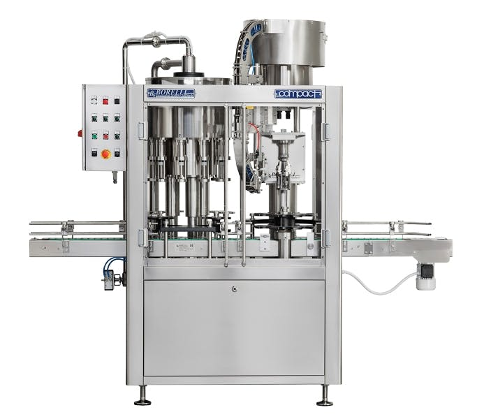 Borelli Compact Bottling machinery sold by The Vintner Vault
