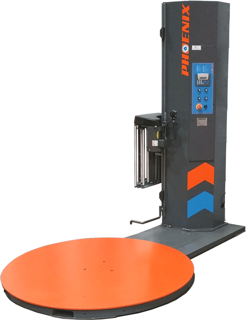 PLP-200 Low Level - Phoenix Stretch Wrapper - Semi-Automatic - sold by Package Devices LLC