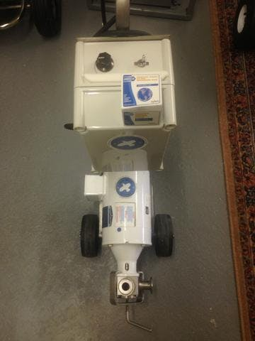 Transfer Pump: Jabsco Variable Speed Pump Sanitary pump sold by Bob-White Systems
