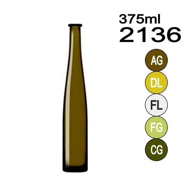 #2136 Wine bottle sold by Wholesale Bottles USA